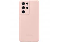 Husa TPU Samsung Galaxy S21 Ultra 5G, Roz, Blister EF-PG998TPEGWW