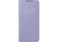 Husa Samsung Galaxy S21+ 5G, LED View Cover, Violet, Blister EF-NG996PVEGEE