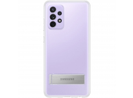 Husa TPU Samsung Galaxy A52, Standing Cover, Transparenta, Blister EF-JA525CTEGWW