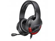 Casti Gaming Awei ES-770i, cu microfon, Negre, Blister