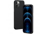 Husa Piele Baseus pentru Apple iPhone 12 Pro Max, MagSafe, Neagra, Blister