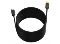 Cablu Audio si Video HDMI la HDMI Baseus, 1080p, 60 Hz, 3D HDR, 18 Gbps, 12m, Negru, Blister CAKGQ-G01