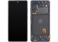 Display - Touchscreen Samsung Galaxy S20 FE 5G, Cu Rama, Bleumarin GH82-24214A