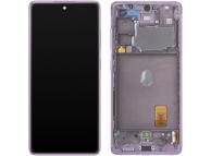Display - Touchscreen Samsung Galaxy S20 FE 5G, Cu Rama, Mov GH82-24214C
