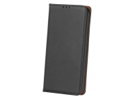 Husa Piele OEM Smart Pro pentru Motorola Moto G9 Play, Neagra