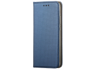 Husa Piele OEM Smart Magnet pentru Xiaomi Redmi Note 9S / Xiaomi Redmi Note 9 Pro, Bleumarin, Bulk
