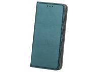 Husa Piele OEM Smart Magnetic pentru Samsung Galaxy A20s, Verde
