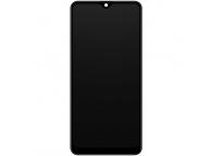 Display - Touchscreen Samsung Galaxy A20 A205, Cu Rama, Negru GH82-19571A