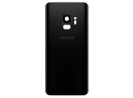 Capac Baterie - Geam Camera Spate Samsung Galaxy S9 G960, Negru, Second Hand