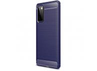 Husa TPU OEM Carbon pentru Samsung Galaxy S20 FE G780 / Samsung Galaxy S20 FE 5G, Bleumarin, Bulk