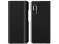 Husa Textil OEM New Sleep Case pentru Samsung Galaxy A50 A505 / Samsung Galaxy A50s A507 / Samsung Galaxy A30s A307, Neagra