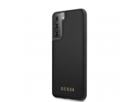 Husa TPU Guess Iridescent pentru Samsung Galaxy S21+ 5G, Neagra, Blister GUHCS21MIGLBK