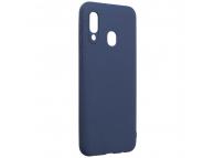 Husa TPU Forcell Soft pentru Samsung Galaxy A20e, Bleumarin