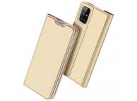 Husa Poliuretan DUX DUCIS Skin Pro pentru Samsung Galaxy M31s, Aurie, Blister