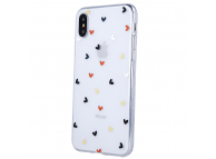 Husa TPU OEM Ultra Trendy Love Time3 pentru Apple iPhone 12 mini, Multicolor Transparenta, Bulk