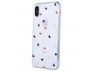 Husa TPU OEM Ultra Trendy Love Time3 pentru Apple iPhone 12 / Apple iPhone 12 Pro, Multicolor Transparenta, Bulk