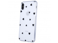 Husa TPU OEM Ultra Trendy Love Time2 pentru Apple iPhone X / Apple iPhone XS, Multicolor Transparenta, Bulk