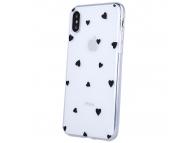 Husa TPU OEM Ultra Trendy Love Time2 pentru Apple iPhone 11, Multicolor Transparenta, Bulk