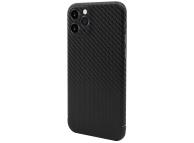 Husa Telefon Nevox Fibra Carbon pentru Apple iPhone 11 Pro Max, Magnet Series, Neagra, Resigilat, Blister
