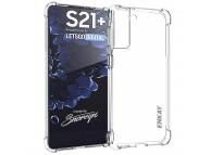 Husa TPU Enkay Antisoc pentru Samsung Galaxy S21+ 5G, Transparenta