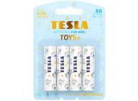 Baterie Tesla Batteries Toys+ Boy, AA / LR6 / 1.5V, Set 4 bucati, Alcalina