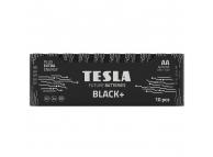Baterie Tesla Batteries Black+, AA / LR6 / 1.5V, Set 10 bucati, Alcalina