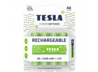 Baterie Tesla Batteries Rechargeable+, AA / Ni-MH / HR6 / 1.2V, Set 4 bucati, Reincarcabila