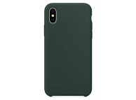 Husa TPU OEM Pure Silicone pentru Apple iPhone 12 Pro Max, Verde, Blister