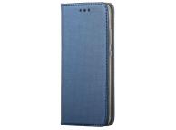 Husa Piele OEM Smart Magnet pentru LG K42, Bleumarin