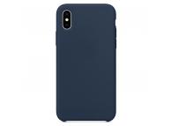 Husa TPU OEM Pure Silicone pentru Apple iPhone 12 Pro Max, Bleumarin, Blister