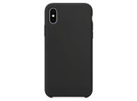 Husa TPU OEM Pure Silicone pentru Motorola Moto G9 Play / Motorola Moto E7 Plus, Neagra, Blister