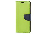 Husa Piele OEM Fancy pentru Samsung Galaxy A02s A025, Vernil, Bulk