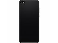 Display - Touchscreen Huawei P40, Cu Rama, cu acumulator si piese, Negru 02353MFA
