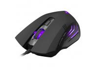 Mouse Wired USB WHITE SHARK GM-3006 HANNIBAL-2, 3200 dpi, Negru, Blister