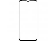 Folie Protectie Ecran OEM pentru Samsung Galaxy A12 A125, Sticla Flexibila, Full Face, Full Glue, 5D, Neagra, Blister