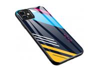 Husa TPU OEM Color Glass2 pentru Huawei P30 Pro, cu spate din sticla, Multicolor