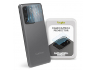 Folie Protectie Camera spate Ringke pentru Samsung Galaxy S20 Ultra G988, Sticla securizata, Set 3 Bucati, 9H, Blister IGSG0018