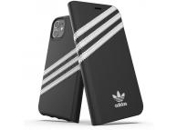 Husa Piele Adidas OR pentru Apple iPhone 11 Pro Max, Neagra, Blister 36540