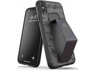 Husa Plastic - TPU Adidas SP Grip CAMO pentru Apple iPhone XS Max, Neagra, Blister 35026