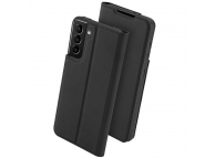 Husa Poliuretan - TPU Nevox VARIO SERIES pentru Samsung Galaxy S21+ 5G, Neagra, Blister