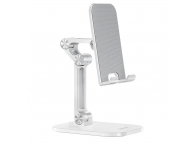 Suport Birou HOCO Excelente PH34, pentru Telefon / Tableta, 4.7 - 13 inch, Alb