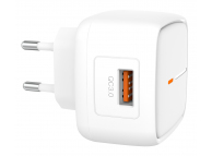 Incarcator Retea USB XO Design L59, 1 X USB, Quick Charge, 18W, Alb