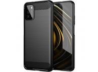 Husa TPU OEM Carbon pentru Xiaomi Poco M3, Neagra