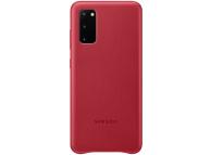Husa Telefon Samsung Galaxy S20 G980 / Samsung Galaxy S20 5G G981, Leather Cover, EF-VG980LREGEU, Rosie, Resigilat