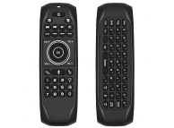 Tastatura Wireless OEM G7V Pro, 2.4GHz, Qwerty, Sensor IR, Neagra
