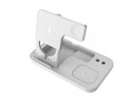 Incarcator Retea Wireless KUULAA KL-O146, Quick Charge, 15W, Alb