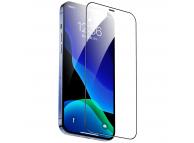 Folie Protectie Ecran Totu Design AB-057 pentru Apple iPhone 12 / Apple iPhone 12 Pro, Plastic, Full Face, Full Glue, HD, Neagra