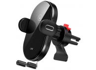 Incarcator Auto Wireless Usams US-CD132, Quick Charge,15W, Negru, Resigilat