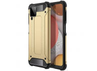 Husa Plastic - TPU OEM Tough Armor pentru Samsung Galaxy A12 A125, Aurie, Bulk