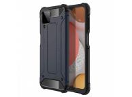 Husa Plastic - TPU OEM Tough Armor pentru Samsung Galaxy A12 A125, Bleumarin, Bulk